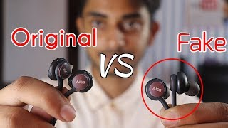 Samsung AKG Earphones Original vs Fake || AKG Earphone Buy from Amazon, Flipkart or Paytm??