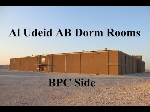 Al Udeid AB Dorm Rooms (BPC Side)