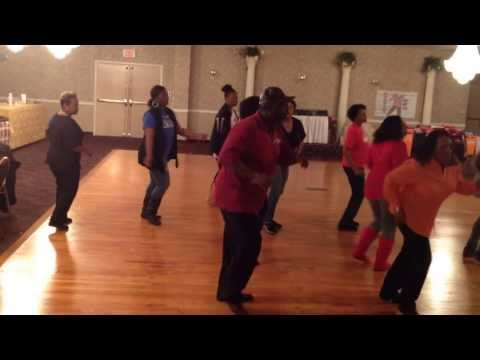 Newtonville New Jersey Soul Line Dancers with Patty & Windsor