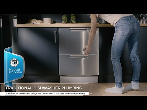 The Fisher & Paykel  Double DishDrawer