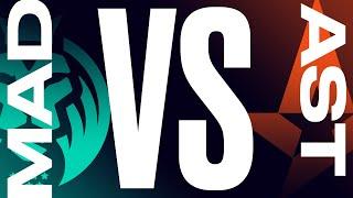 MAD vs. AST - Week 7 Day 1 | LEC Summer Split | MAD Lions vs. Astralis (2021)