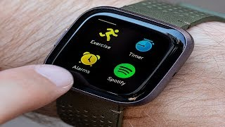 Fitbit Versa Smart Watch Review / Видео