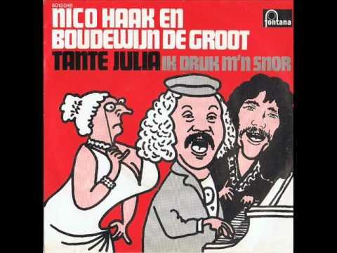 Nico Haak en Boudewijn de Groot  Tante Julia