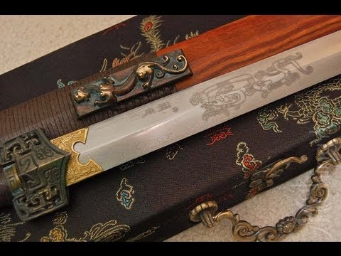 Han Jian Hand Forged Damascus Blade - Han Dynasty Sword BATTLE READY!