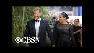"Harry and Meghan meet Beyoncé at ""Lion King"" premiere"