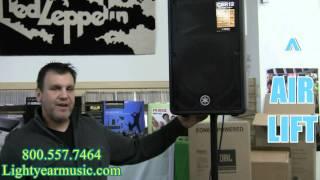 Air lift Speaker Stands for Karaoke speakers