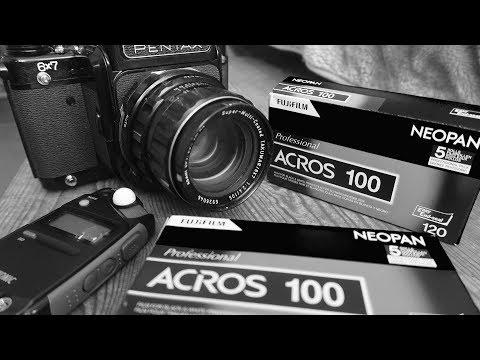Fujifilm Neopan ACROS 100 My FAVOURITE Black & White Film - First Impressions