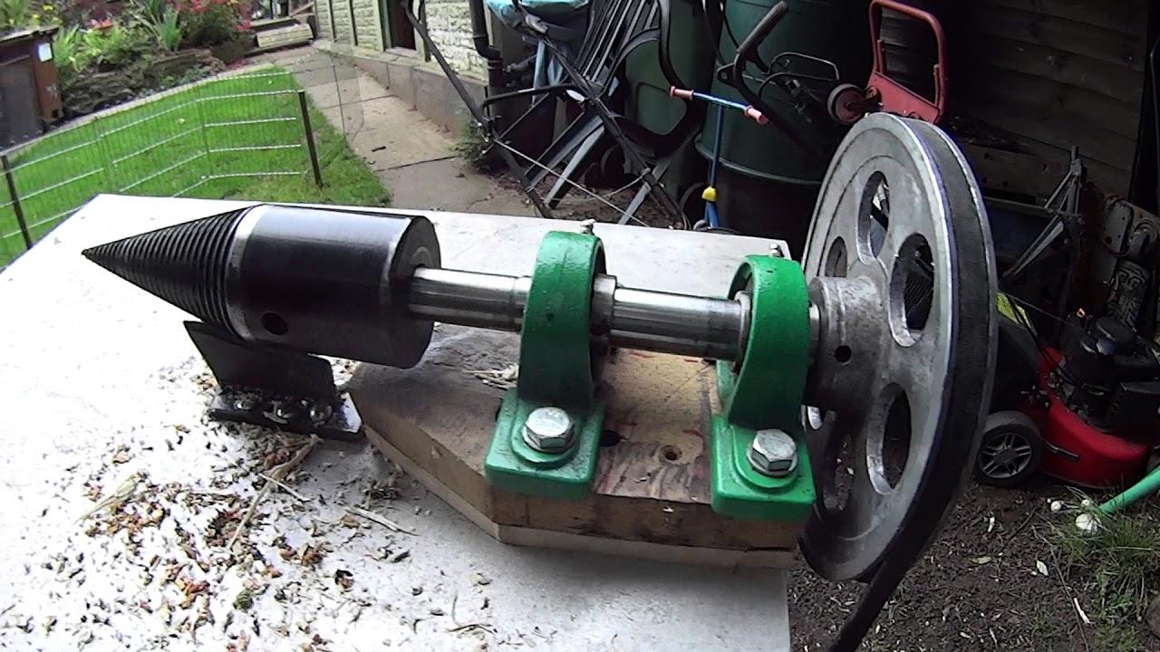 Gas Pumps For Sale >> SCREW LOG SPLITTER : PETROL ENGINE : - YouTube
