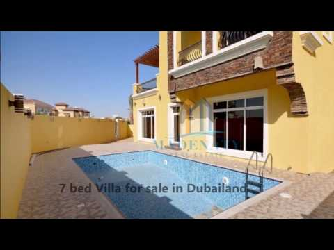 7 Bedroom Villa for sale in Dubailand, The Villa (all), Dubai