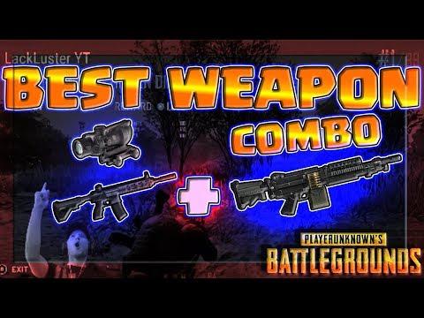 #1 Best Weapon Setup In PUBG! M416 + M249 - 5.56x45mm BEAST MODE