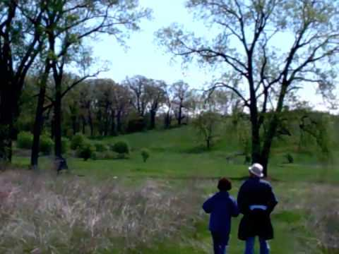 Hiking Glacial Park in McHenry County, Illinois.m4v