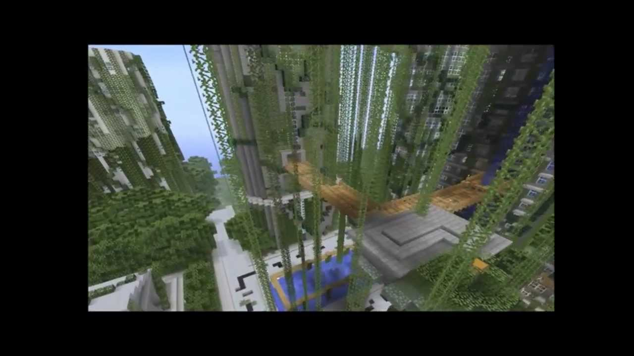 Minecraft Best Hunger Games Map - YouTube