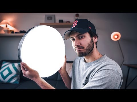 $40 DIY CAKE PAN LIGHT... Better Than A $1000 Video Light?!?