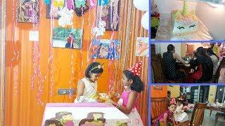 ಬರ್ತ್ಡೇ ಪಾರ್ಟಿ l unicorn theme girls party l cuemath l kannada vlog...