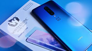 OnePlus 7 Pro Whitestone Dome Glass Install & Review
