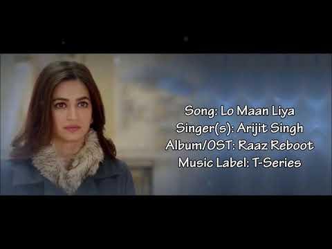 Lyrics video song English subtitles ( Lo Maan Liya)