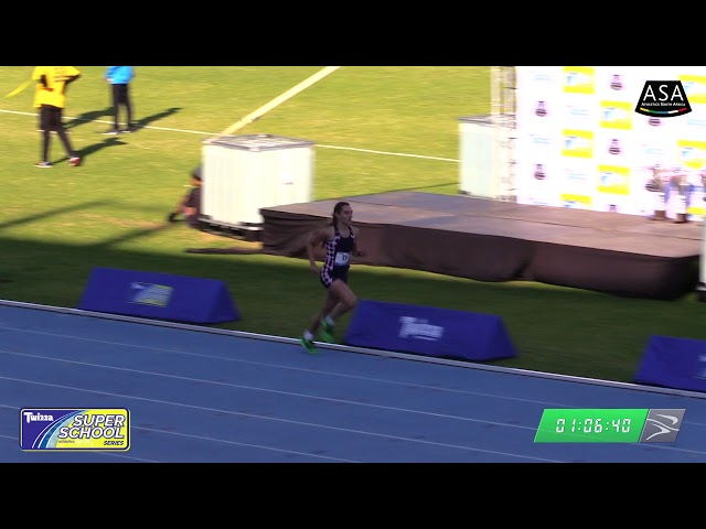 Final Girls u19 800m - 2019 Twizza SuperSchoolSeries Greenpoint