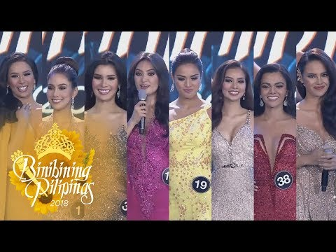 Binibining Pilipinas 2018: The winning answers of Binibining