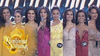 Binibining Pilipinas 2018: The winning answers of Binibining Pilipinas 2018 Queens