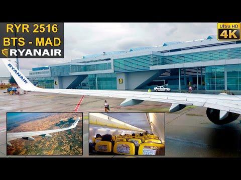 FLIGHT EXPERIENCE | Bratislava - Madrid | RYANAIR B737