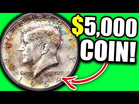 1964 KENNEDY HALF DOLLAR WORTH MONEY- 50 CENT COINS THAT ARE VALUABLE