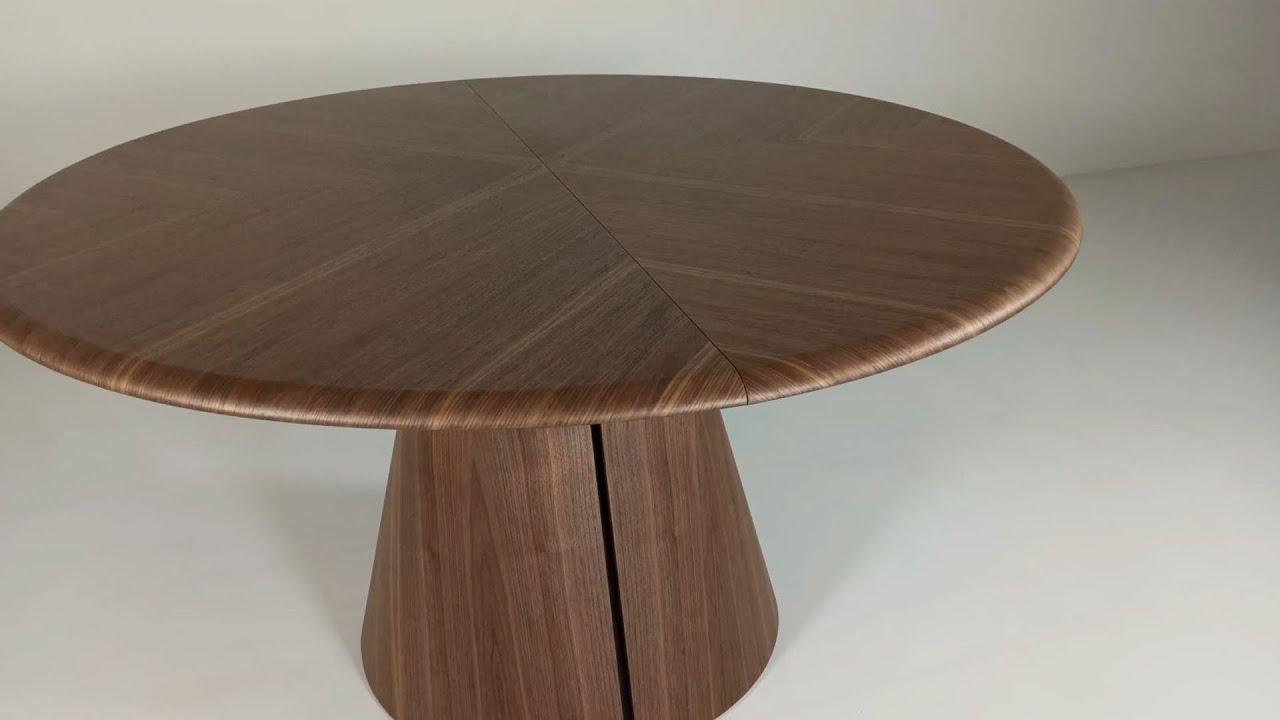 Tavolo Allargabile E Allungabile.Iris Tondo Tavolo Rotondo Allungabile Round Extensible Table
