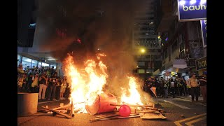 Xinhua View: How external forces have inflamed tensions in Hong Kong