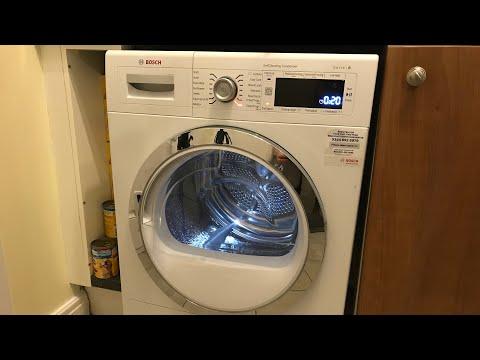 BOSCH, Heat Pump Tumble Dryer Quick Overview & Demo