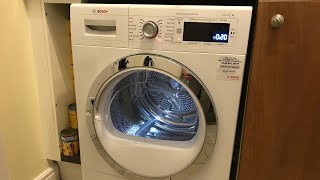 BOSCH, Heat Pump Tumble Dryer, Overview \u0026 Demo