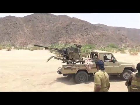 الحدث ترافق الجيش الوطني اليمني في مهمة تأمين مناطق محررة في الجوف