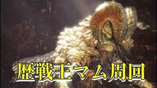 【MHW実況】歴戦王マムタロト脳死高速周回(視聴者参加型)実質最終日!