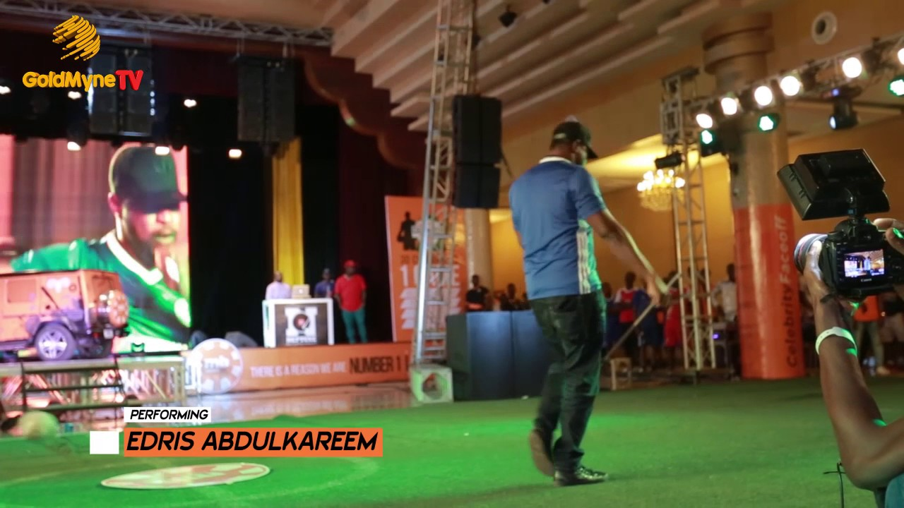 EDRIS ABDULKAREEM LIVE AT (CELEBRITY FANS CHALLENGE) FALZ VS AKPORORO