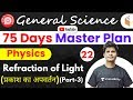9:30 AM - Railway General Science l GS Physics by Neeraj Sir | Refraction of Light