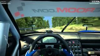 RaceRoom: HillClimb in Sweden on Saleen S7R