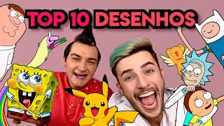TOP 10 DESENHOS DA VIDA feat aNellysando | Maicon Tudo