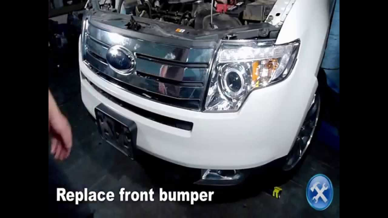 Specdtuning Installation Video_   Ford Edge Projector Headlights Mp