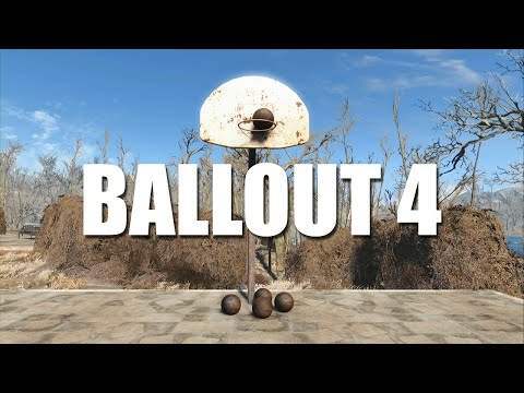 Fallout 4 Player Makes Basketball Trick Shots in the Wasteland
