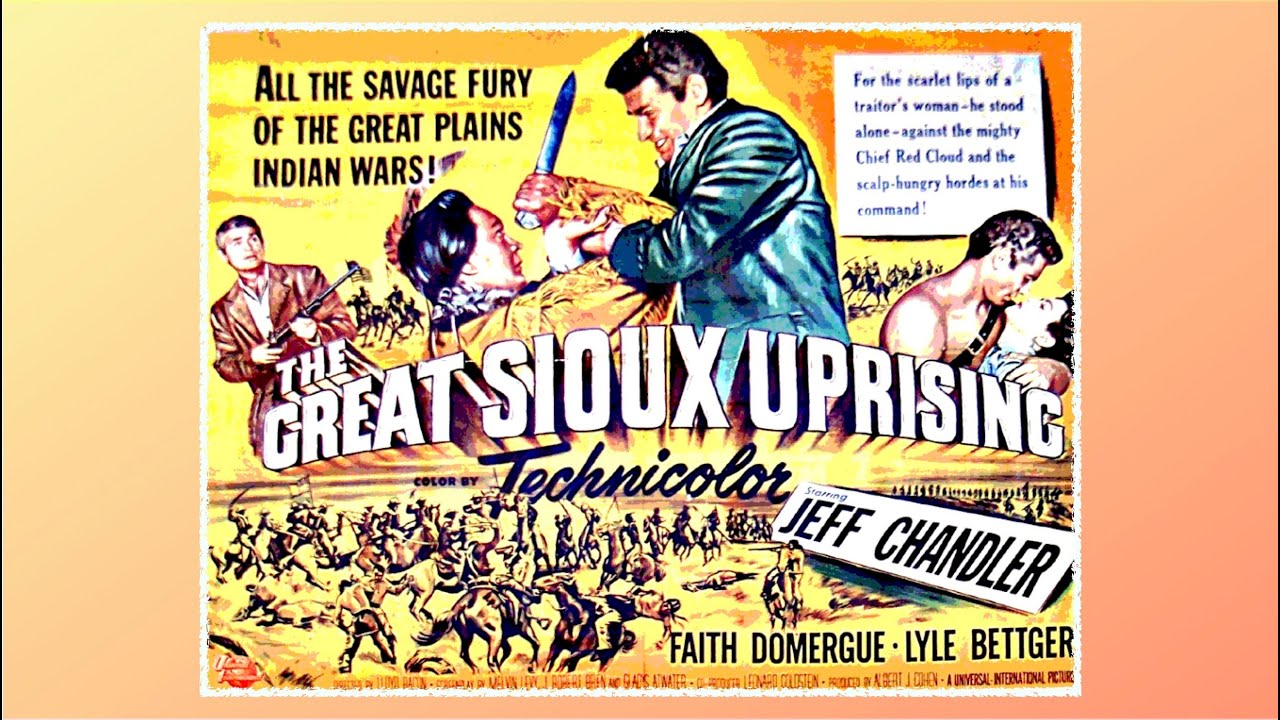 Download The Great Sioux Uprising 1953 Western Jeff Chandler Faith Domergue Lyle Bettger