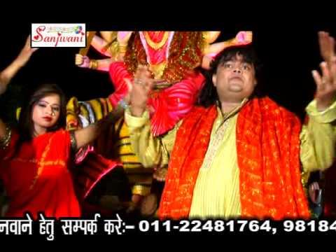 HD Video 2015 New Bhojpuri Devi Geet || Bajta Maike Gana || Guddu Rangila