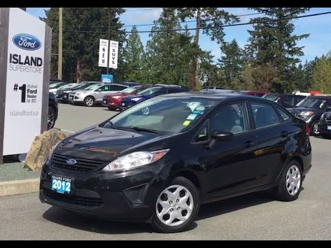 2012 Ford Fiesta S Bucket Seats + Solar Tinted Glass  Review |Island Ford