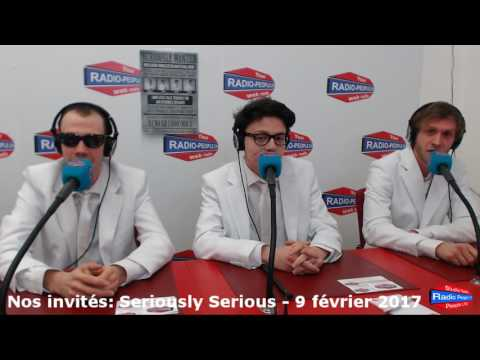 L'interview de Seriously Serious - Groupe de Power Sixties Rock N'Roll