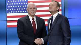 Europe  US VP Mike Pence takes charm offensive to EU and NATO in Brussels