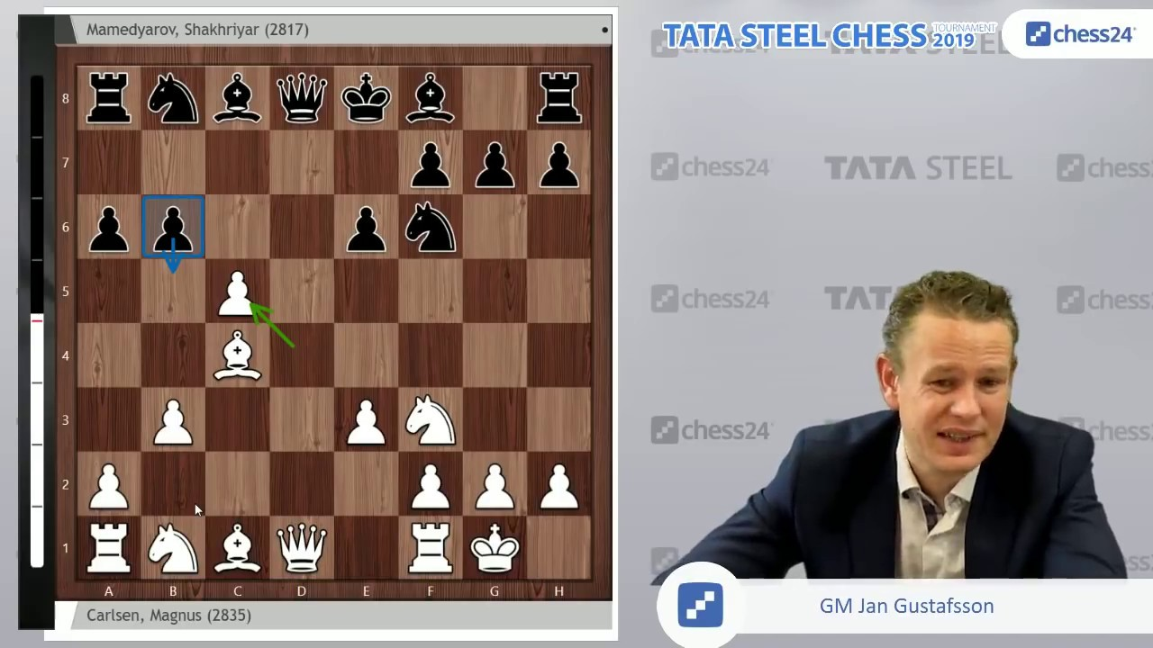 carlsen mamedyarov tata steel chess 2019 game of the day youtube rh youtube com chess 2019 schedule chess 2019 calendar