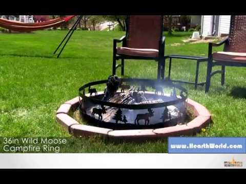 FIRE PIT RIM - WILD MOOSE CAMPIRE RING