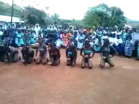 Culture: la danse des filles vierges de Bassar (Nord Togo)