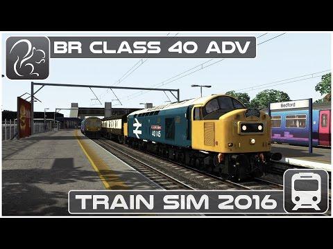 BR Class 40 '40145'  - Train Simulator 2016