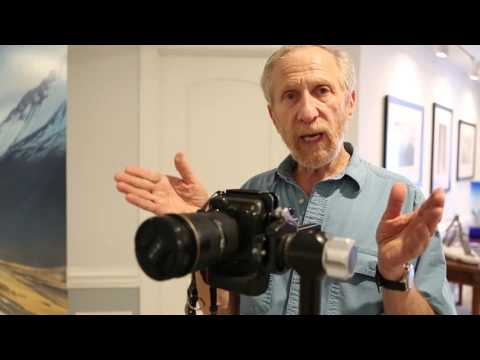How to determine lens nodal point for panoramic photography