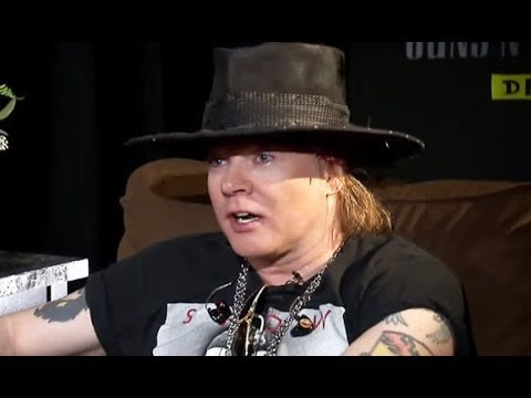 Guns N' Roses Axl Rose on Hipsters Wearing Band Shirts