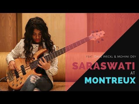 SARASWATI AT MONTREUX - ABHIJITH & SANDEEP ft.DAVE WECKL & MOHINI DEY..!!!