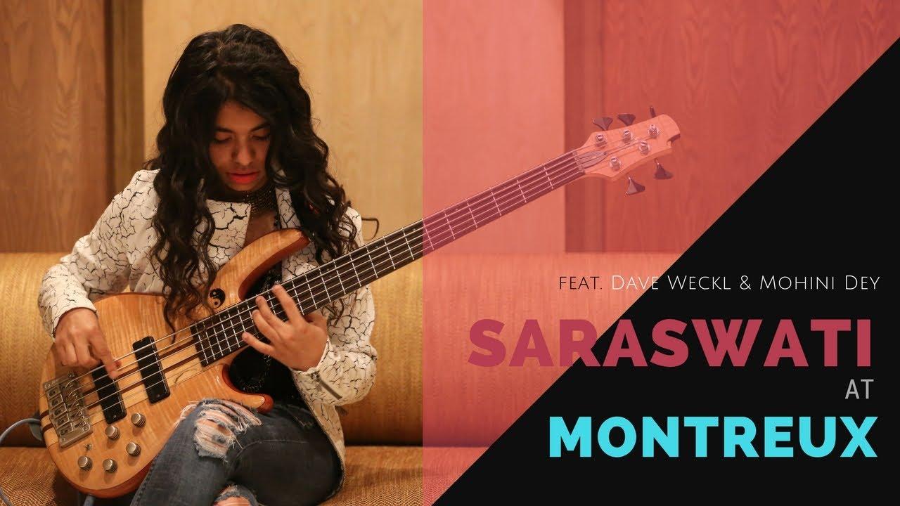 SARASWATI AT MONTREUX | ABHIJITH & SANDEEP ft.DAVE WECKL & MOHINI DEY..!!!